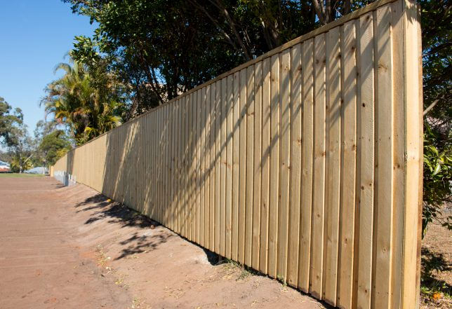 timber fencing brisbane northside